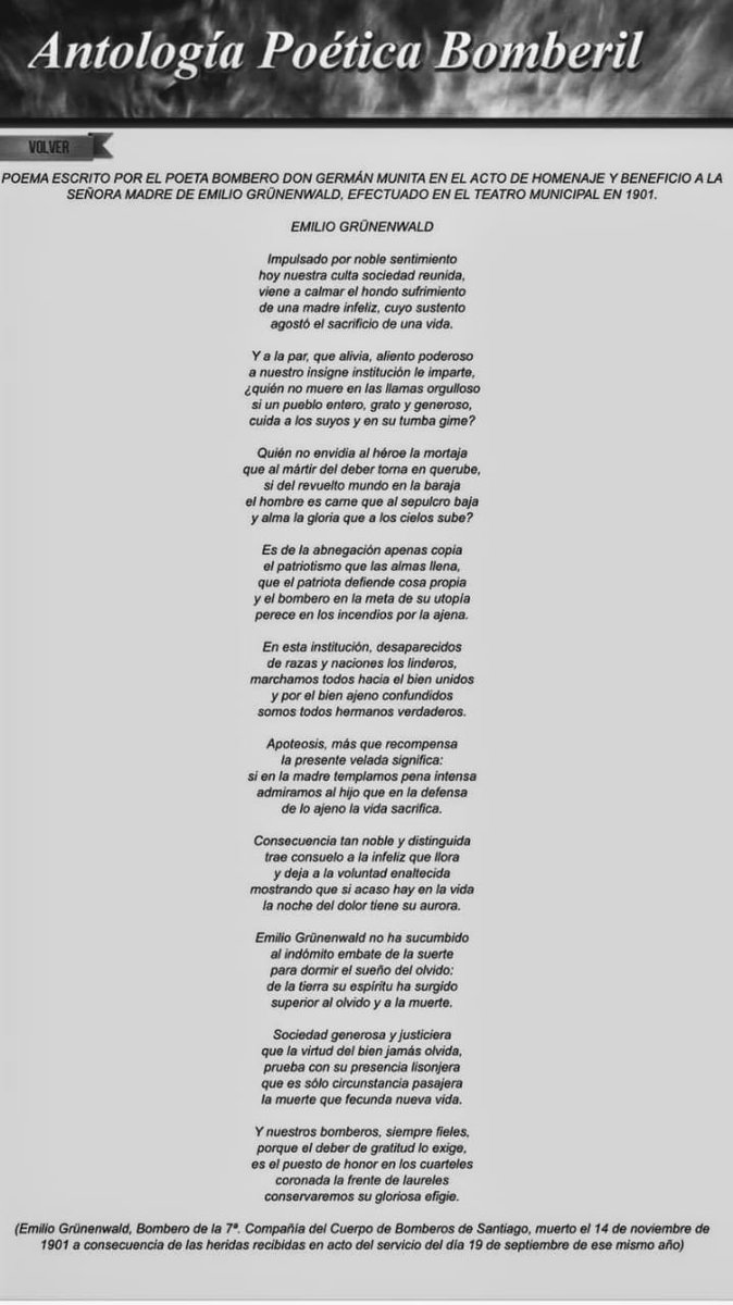 Séptima Compañía Cbs على تويتر Poema Escrito Por El