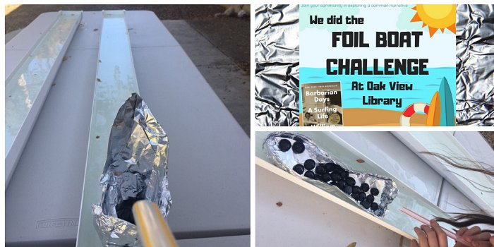OCOB Foil Boat Challenge