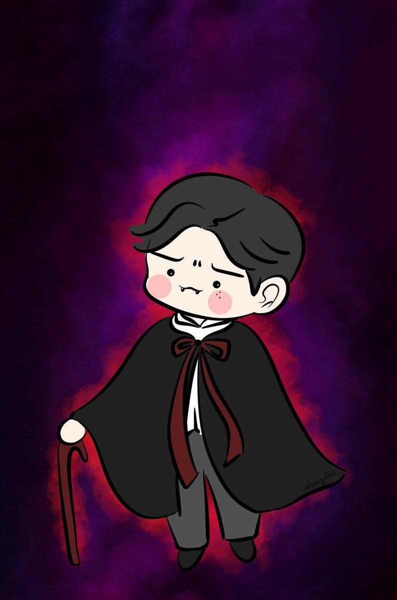 Ng Doodle ᴥ On Twitter Happy Halloween Drac Ssi 옹성우