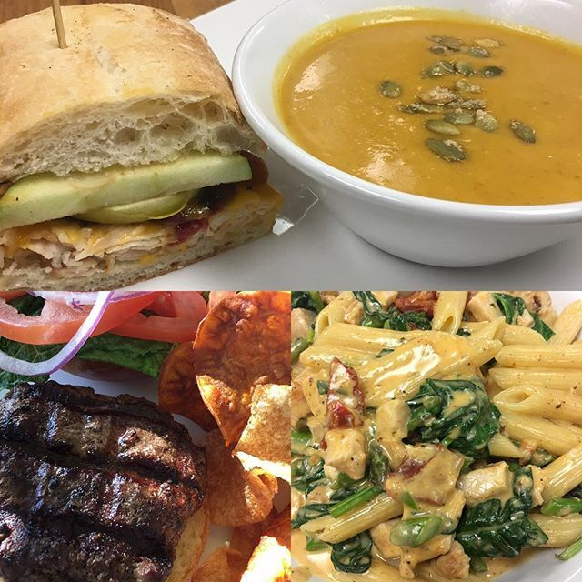Turkey cranberry apple in ciabatta! Burgers, red curry butternut squash soup #lunch #yummy https://t.co/p6UZcYrKzf https://t.co/kbPoqFxKgs