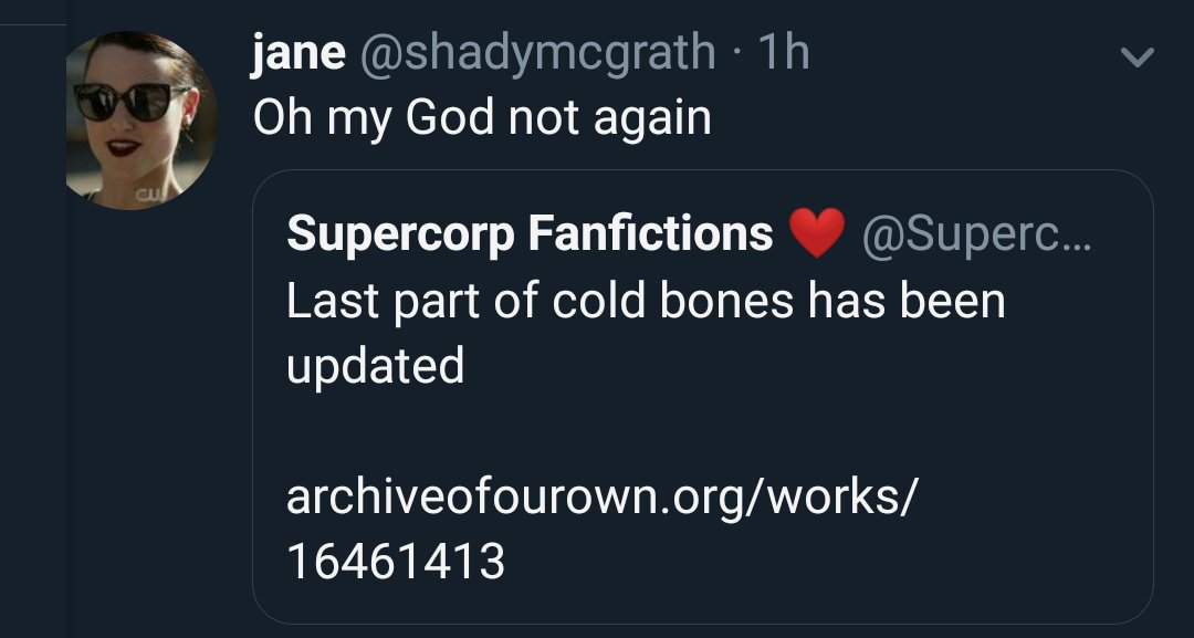Supercorp Fanfictions ❤ on Twitter: