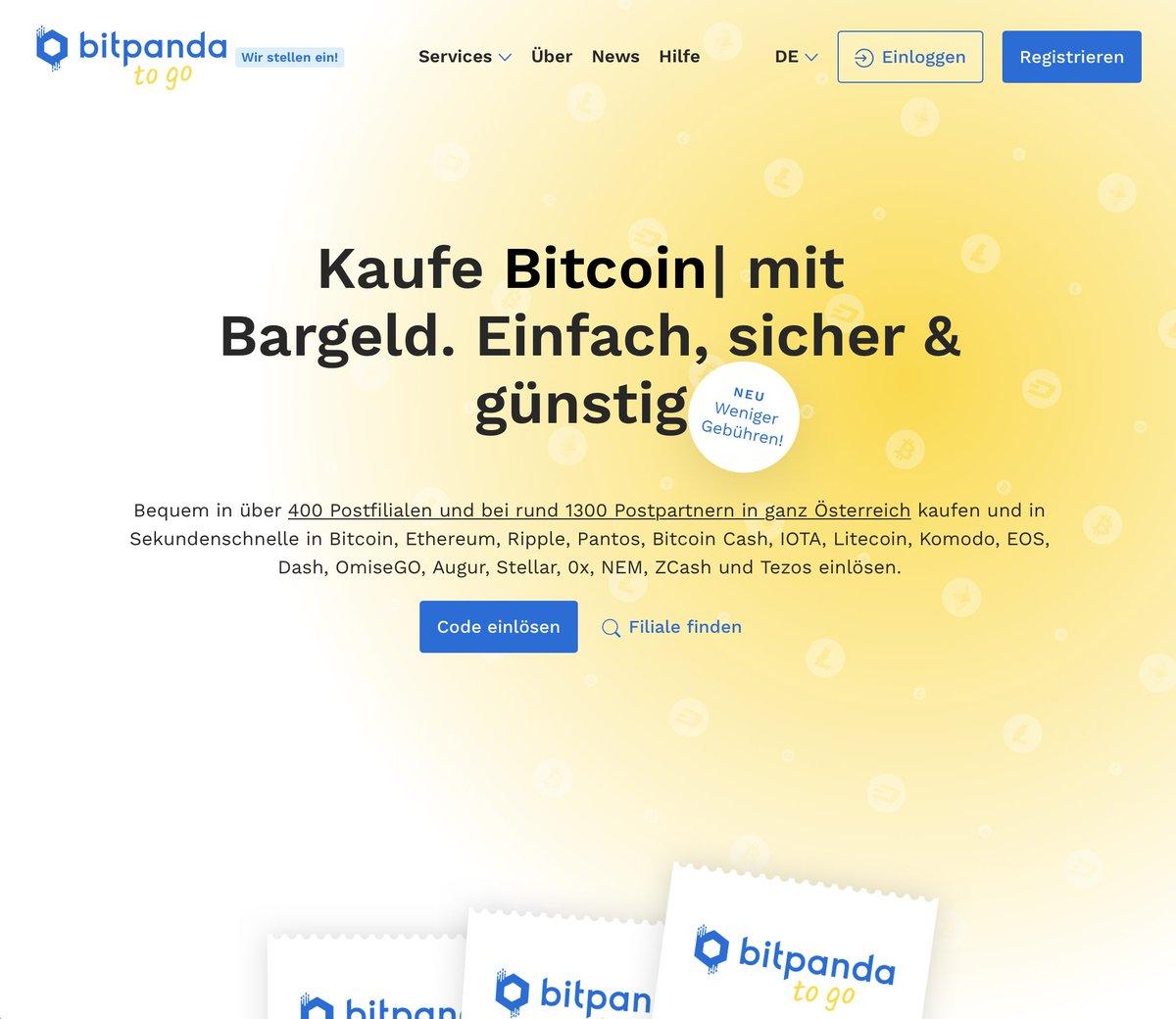 bitcoin kaufen post beste kryptowährungs-investitionsseiten auto bitcoin trader