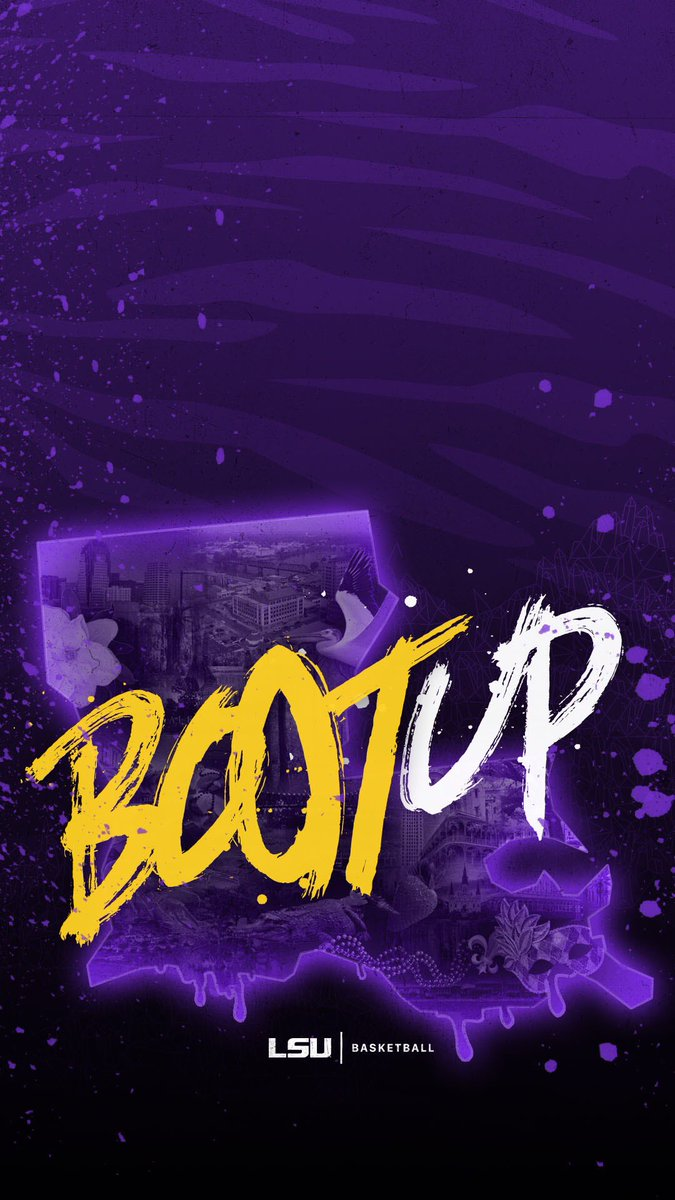 "LSU Basketball on Twitter: ""One week from Tip-Off means new wallpapers 💯✊ #BootUp 🐯… """