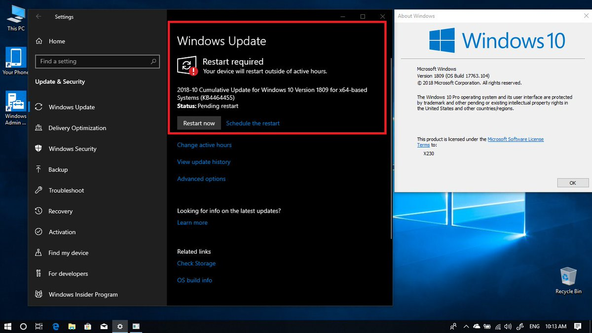 Ltsc 1809 | Windows 10 LTSC 1809 version features update  2019-03-06