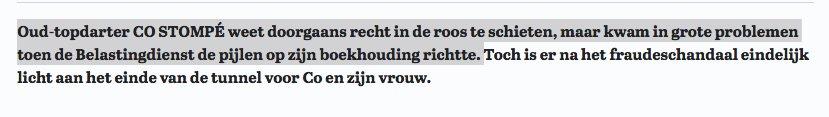 De dartmetafoor tot in de perfectie uigevoerd. Onehundredandeighty, Telegraaf..