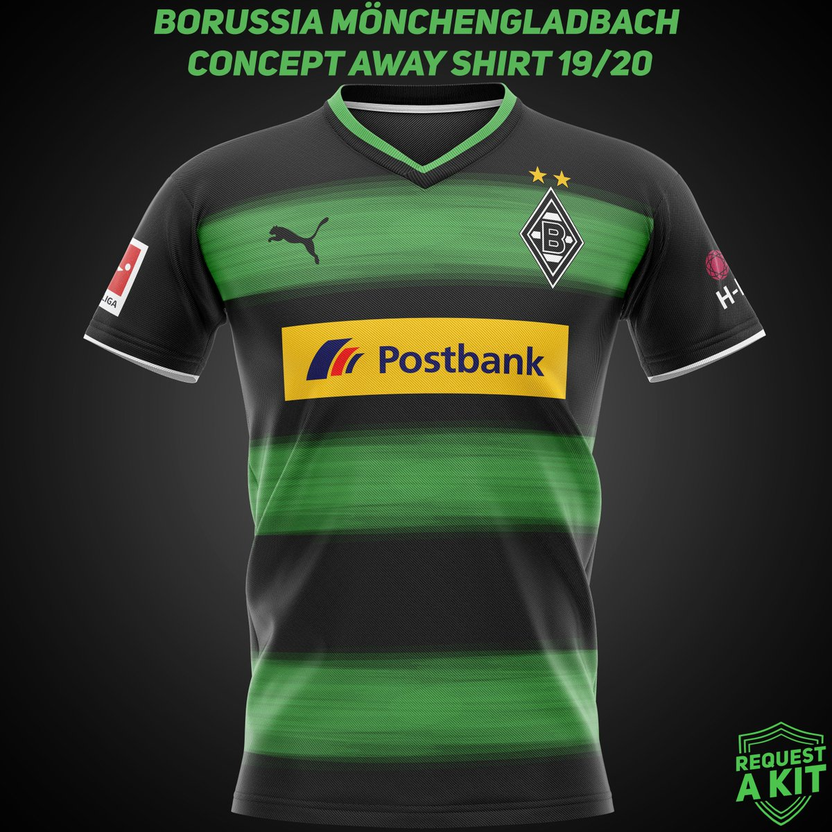Request A Kit On Twitter Borussia Monchengladbach Concept Home And Away Shirts 2019 20 Requested By Harryq15 Bmg Fohlenelf Diefohlen Borussia Monchengladbach Fm19 Fm19beta Wearethecommunity Download For Your Football Manager Save Here