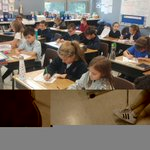 Image for the Tweet beginning: SJS Fifth-graders in the First-Ever
