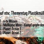 Kleiner TV-Tipp für den heutigen Abend: Auf @ntvde gibt es heute einen Thementag zu #Plastikmüll im Meer. 👍 Und viele weitere Infos gibt's hier: https://t.co/f44Z05Hv1C #oceanminded
