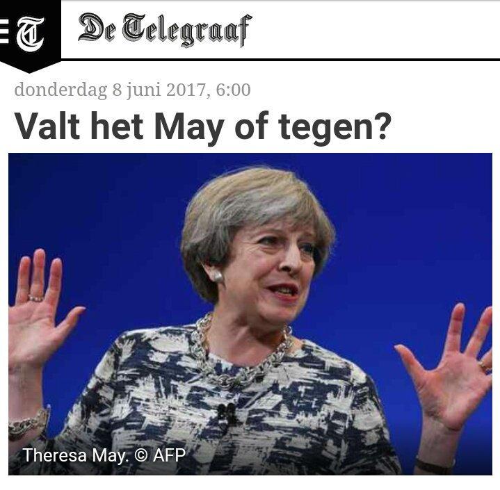 Nee, gewoon precies wat we van je verwachten Telegraaf!