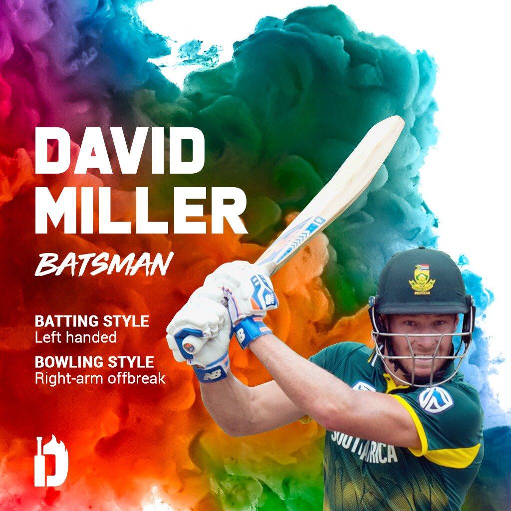 David Miller At Davidmillersa12 Twitter