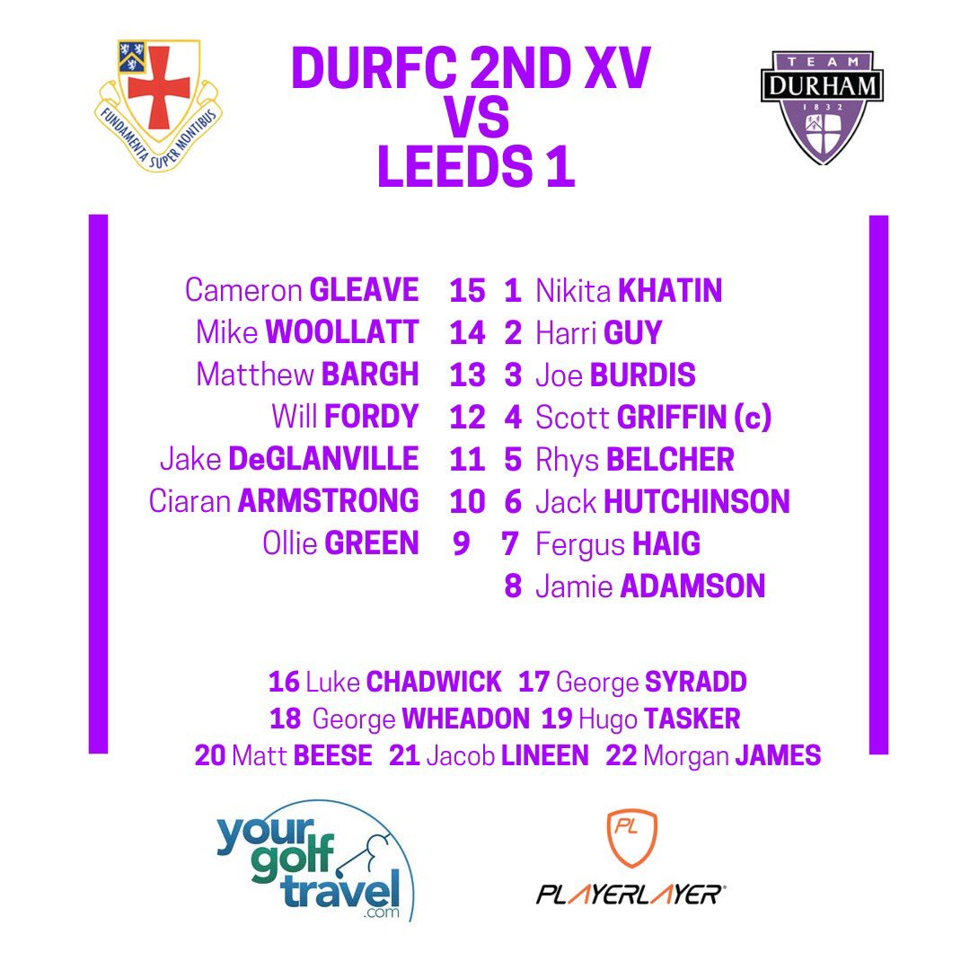 Durham University Rfc On Twitter Another Big Week For The Club
