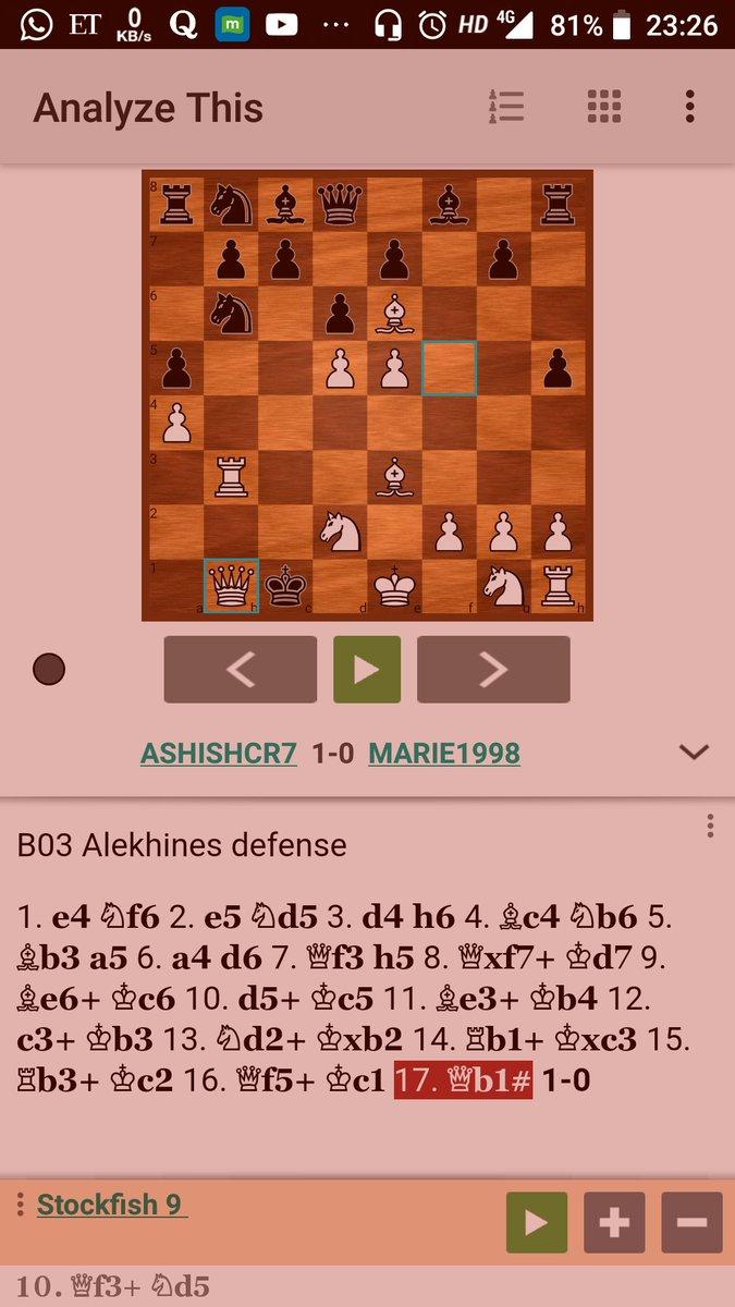 chessvideo hashtag on Twitter