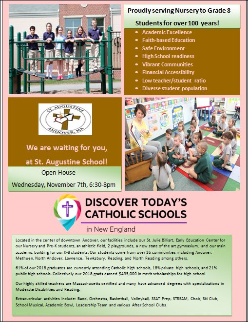 St Augustine School Sasandover Twitter