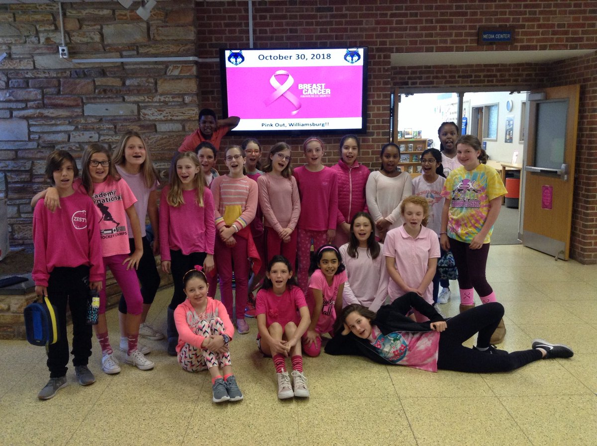 Pink out!! HUNDREDS of WMS students, faculty, &amp; staff showing support for Breast Cancer Awareness Month. <a target='_blank' href='http://search.twitter.com/search?q=WeCan'><a target='_blank' href='https://twitter.com/hashtag/WeCan?src=hash'>#WeCan</a></a> <a target='_blank' href='http://search.twitter.com/search?q=WMSwolf'><a target='_blank' href='https://twitter.com/hashtag/WMSwolf?src=hash'>#WMSwolf</a></a> <a target='_blank' href='http://search.twitter.com/search?q=BreastCancerAwarenessMonth'><a target='_blank' href='https://twitter.com/hashtag/BreastCancerAwarenessMonth?src=hash'>#BreastCancerAwarenessMonth</a></a> <a target='_blank' href='http://search.twitter.com/search?q=APSisAwesome'><a target='_blank' href='https://twitter.com/hashtag/APSisAwesome?src=hash'>#APSisAwesome</a></a> <a target='_blank' href='https://t.co/MWZPPzTAua'>https://t.co/MWZPPzTAua</a>