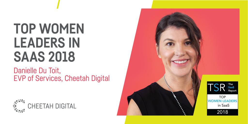 Congratulations to our EVP of Services, Danielle du Toit, for being featured in the Top Women Leaders in #SaaS list by The SaaS Report! https://t.co/s3Efr2gblG https://t.co/5sd7Y9019n