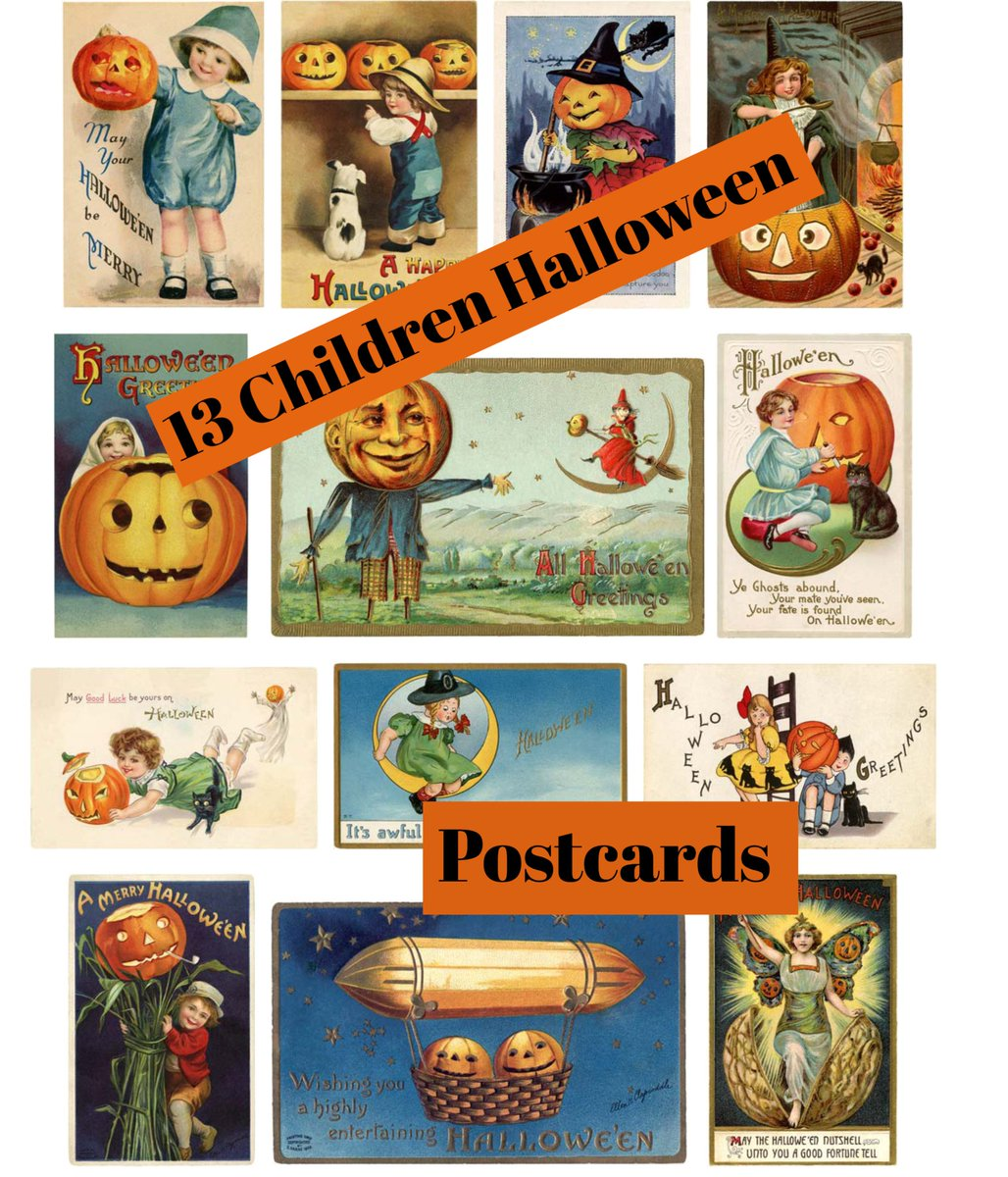 Retro Vintage Halloween Clip Art.One Retro Lady Etsy On Twitter Fun New Listing Vintage Halloween