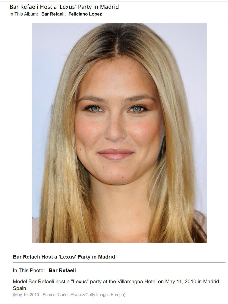 Necessary words... super model bar refaeli agree with