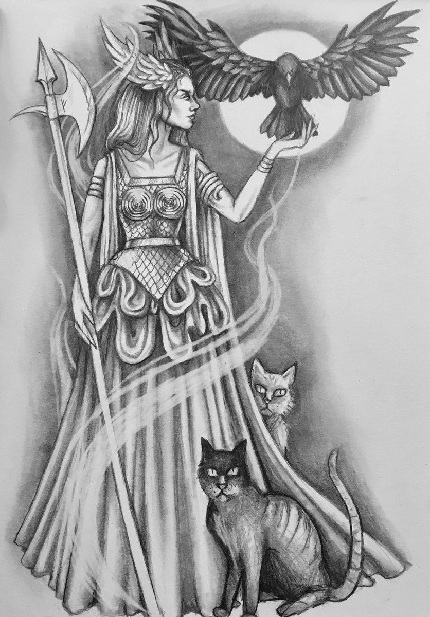 фрейя богиня любви картинки что