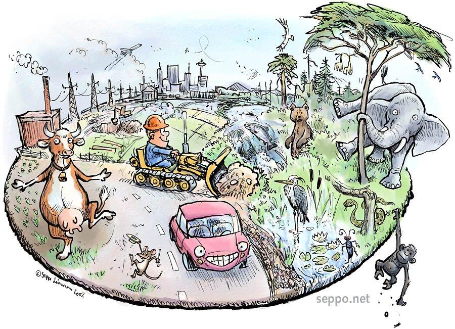 Экологические картинки смешные