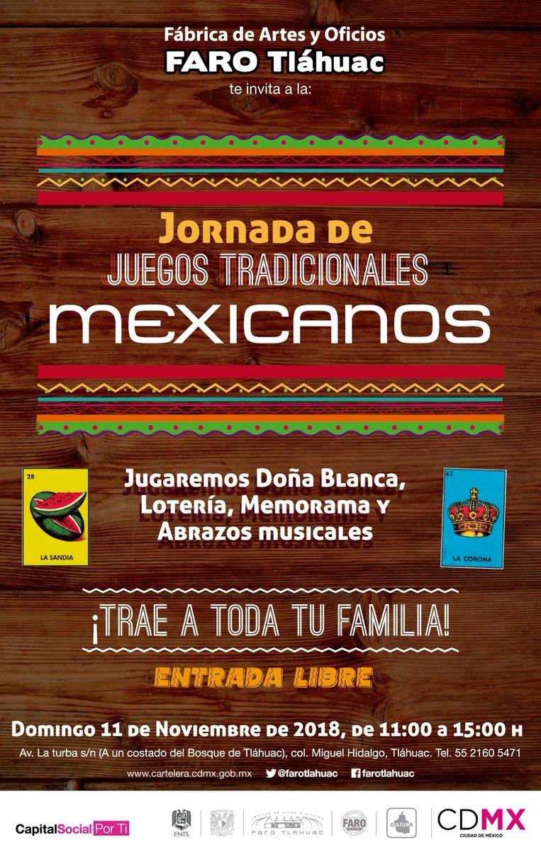 La Farotlahuac Invita A La Jornada De Juegos Tradicionales