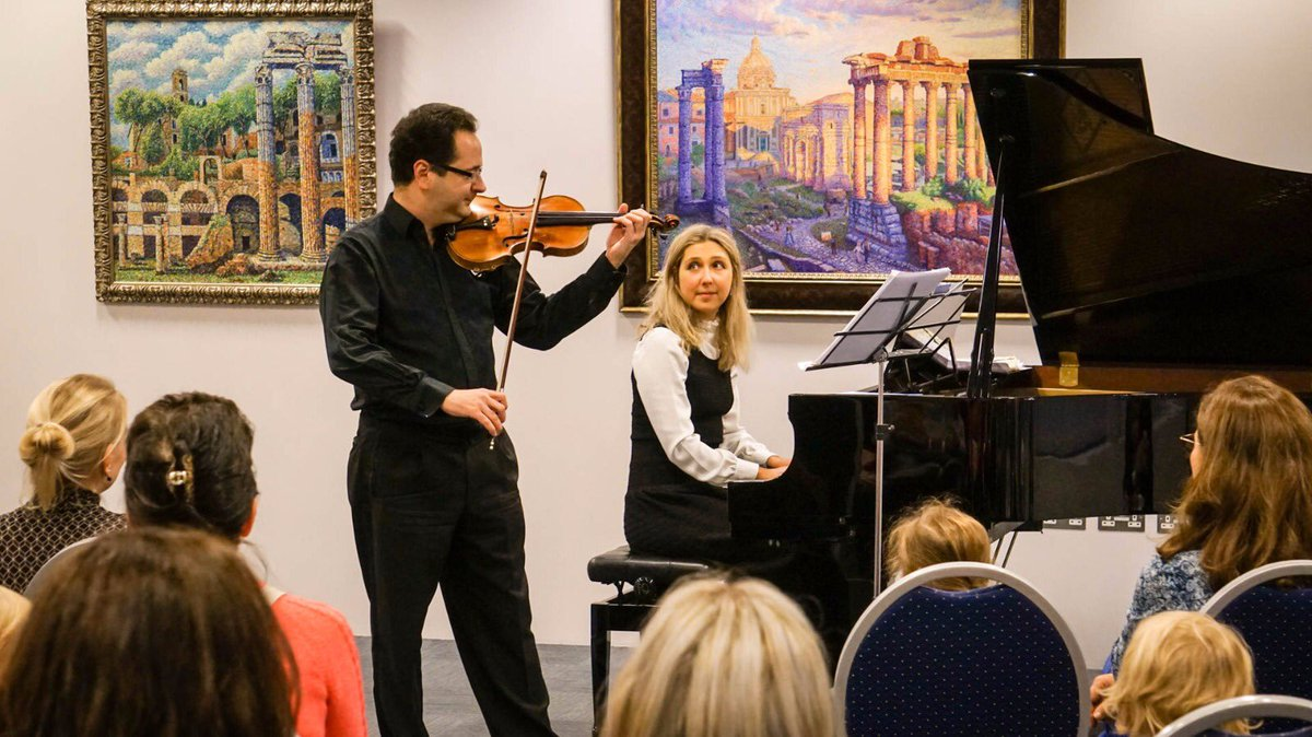 """?????? ?? ??? ?? ???? on Twitter: """"Fantastic #BabyClassic concert series for the youngest #London audience is progressing! Thank you,# Tchaikovsky #Russian #Music School for cultivating kids' good taste! ??? Pretty violin this"""