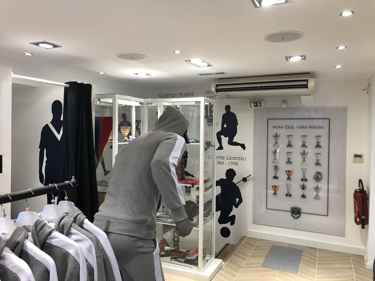 jour j pour l'ouverture de la nouvelle boutique