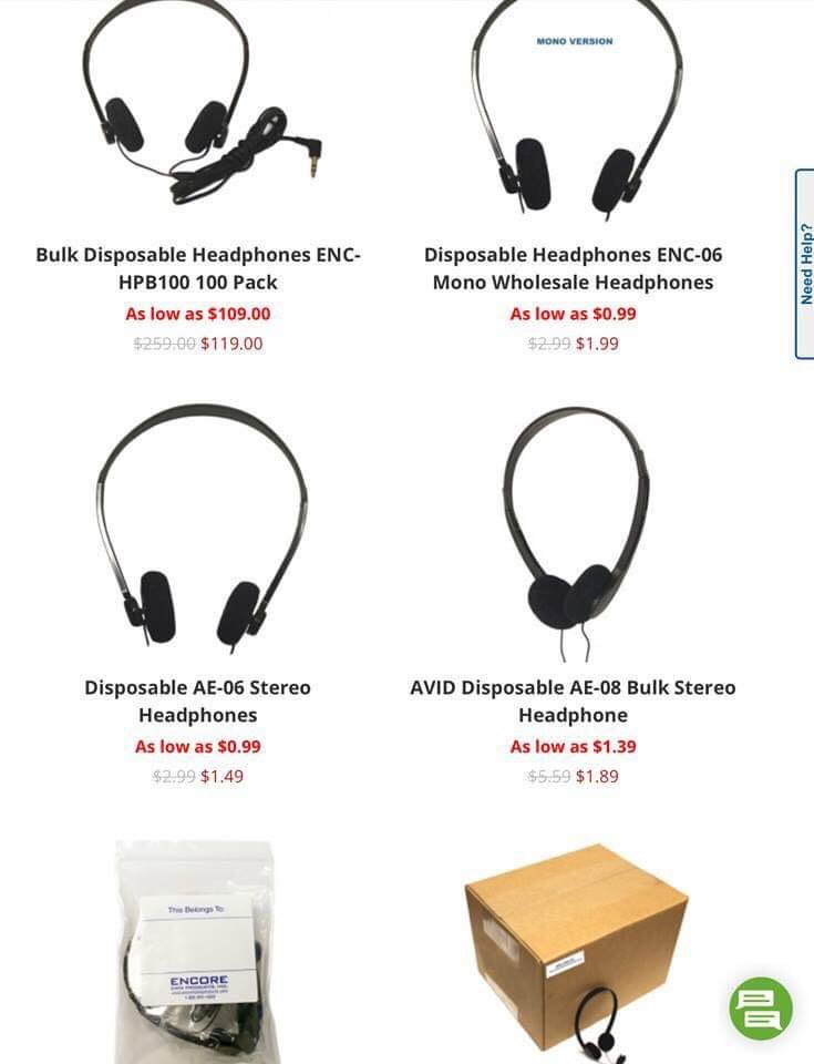Looking for inexpensive headphones? We got you covered! Follow us on social  ,read our blog and stay updated!😀🎧 Call 866 926 1669 https://t.co/ZltaYuP212  #encoredataproducts #headsets #headphones #earbuds #schoolsupplies #schoolsupplyshopping #STEMDirector #curriculumdirector https://t.co/sfPT5uP9lq