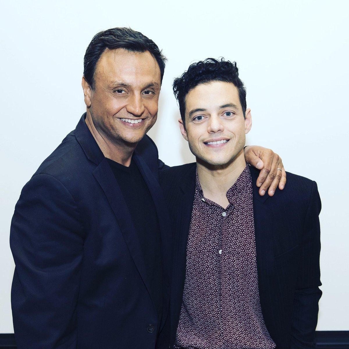 Quand Ramzy rencontre Rami. RDV samedi 20h40 pour une spéciale Buzz When Ramzy met Rami #Oscars #buzz #BohemianRhapsodyMovie #Ramimalek