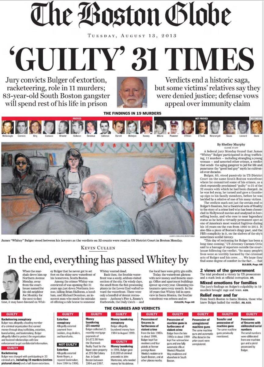 california true crime on twitter headlines the day whitey bulger