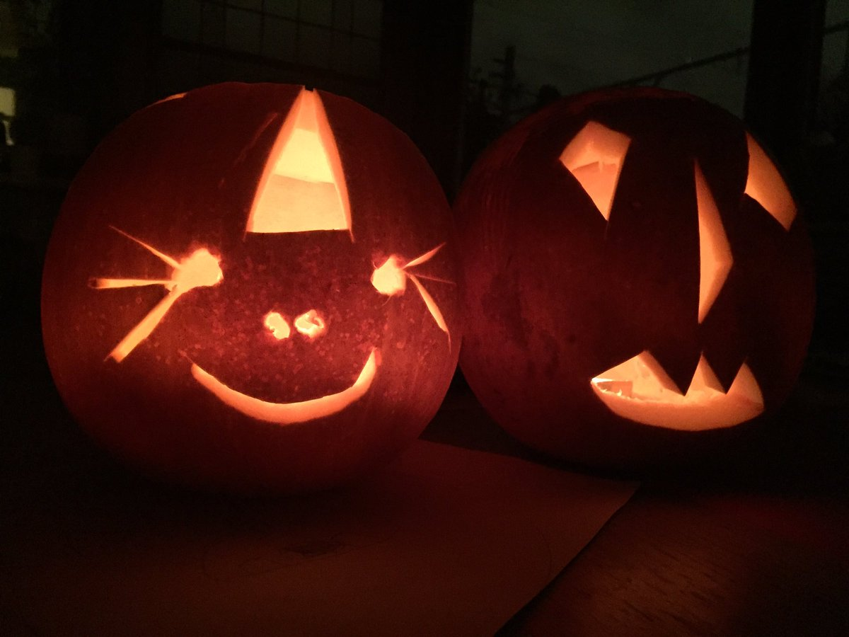 Toby Brown On Twitter Pumpkin Unicorn Ish And Halloween Standard With Wonky Eyes Inspired By Deadpool No They Weren T Carved By The Kids Https T Co A4ltxkzv2q