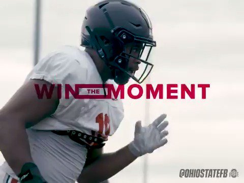 We are trained for times like this. 💪 #RFactor @TimothyKight #GoBucks #WinTheMoment