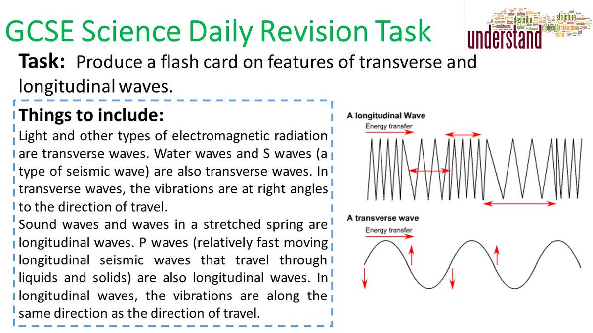 To help get you ready for your Science GCSEs start revising early! Heres todays short revision task to have a go at: #ukedchat #edchat #asechat #aussieED #ittchat #nqtchat #aqabiology #aqachemistry #aqaphysics #revision