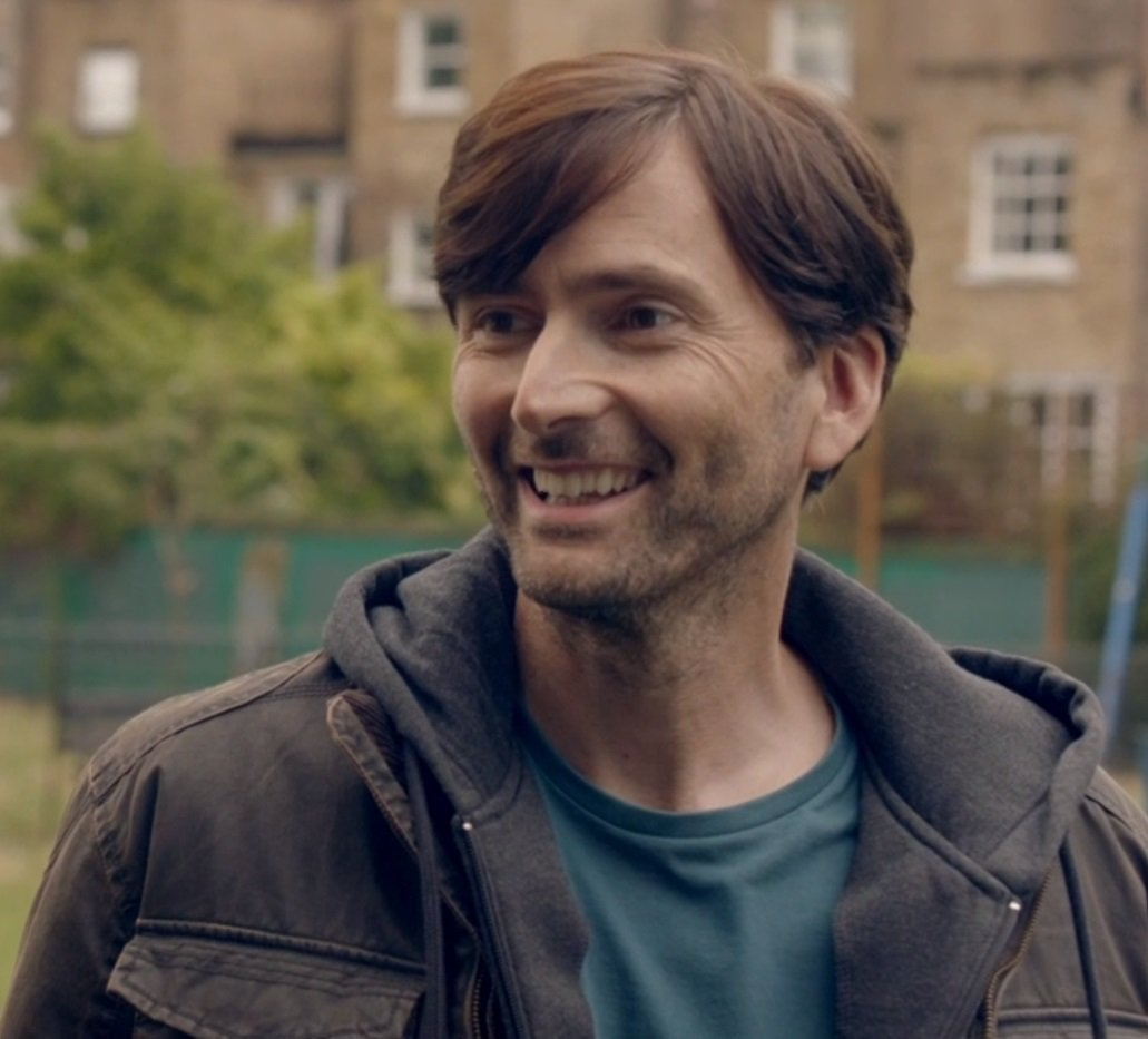 David Tennant from the third episode of There She Goes