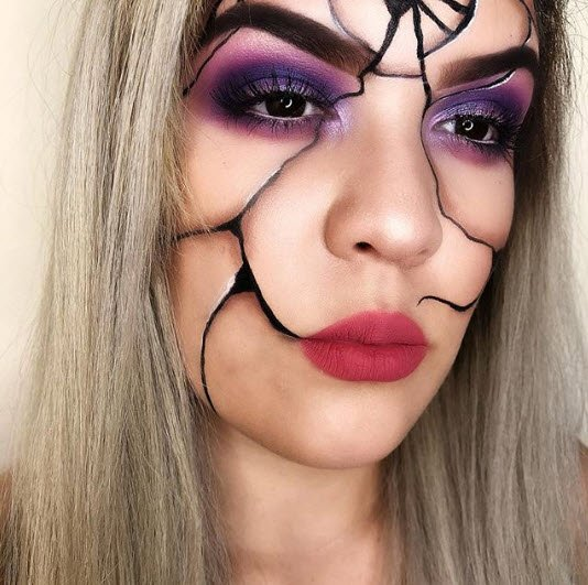 a468737b5de 💔BROKEN MIRROR💔 @kristierose07 takes her Halloween look to the next level  with our