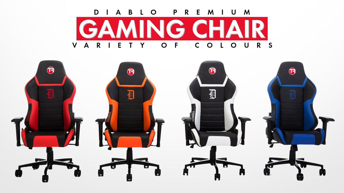 Admirable Trak Racer On Twitter Diablo Gaming Chair Inspired By Car Alphanode Cool Chair Designs And Ideas Alphanodeonline