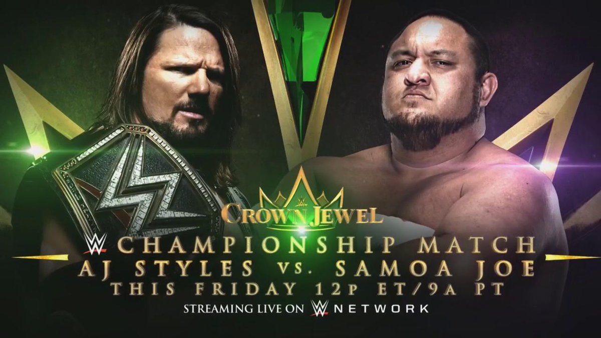New WWE Title Match Announced For Crown Jewel