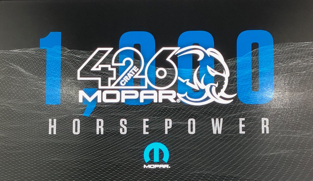 Mopar On Twitter Supercharged Performance Hell Yeah Introducing