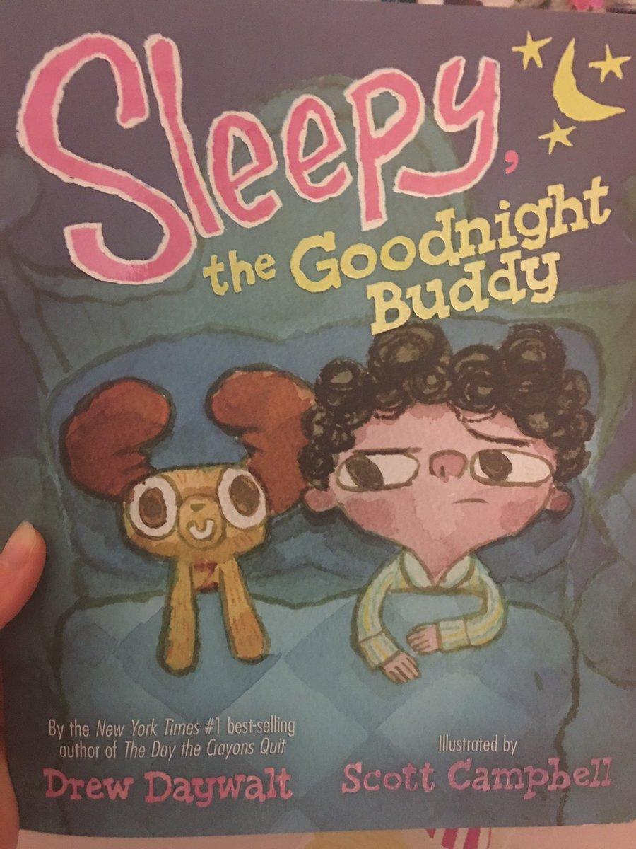 I don't think I have EVER heard my daughter laugh so hard during a read...@DrewDaywalt @ChildrensBW_LA #sleepythegoodnightbuddy