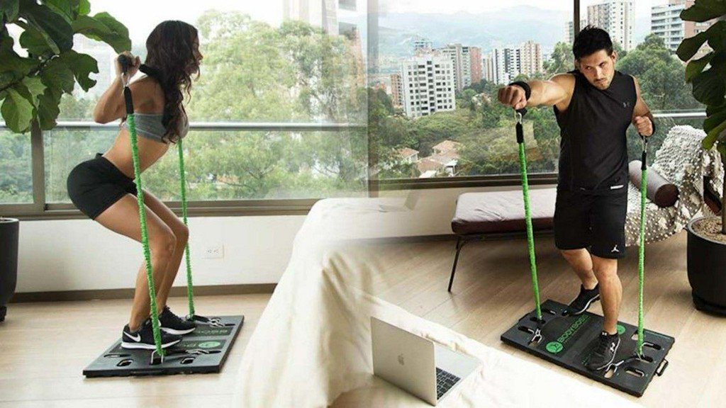 Via @DEALBOSS: Stop Making Excuses And Exercise With This Portable Home Gym  Https: