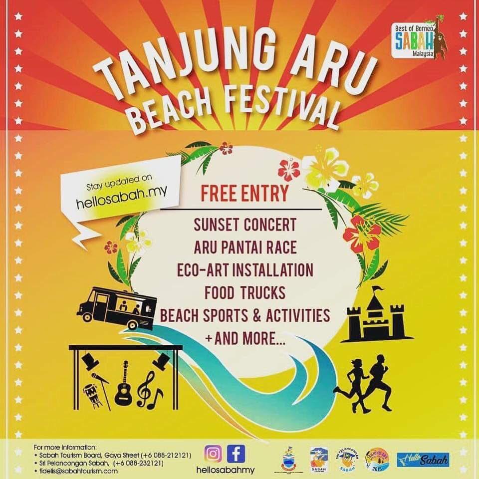 Bki On Twitter Tanjung Aru Beach Festival 23 25