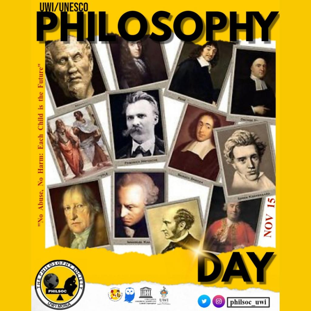 Join the department of Language, Linguistics and Philosophy alongside Philsoc this upcoming Thursday, November 15th as we celebrate together UNESCO World Philosophy Day in the FHE Courtyard.   #UNESCO #PhilosophyDay  #PhilsocFosteringTheMindToReason<br>http://pic.twitter.com/wVbCcIIEOO