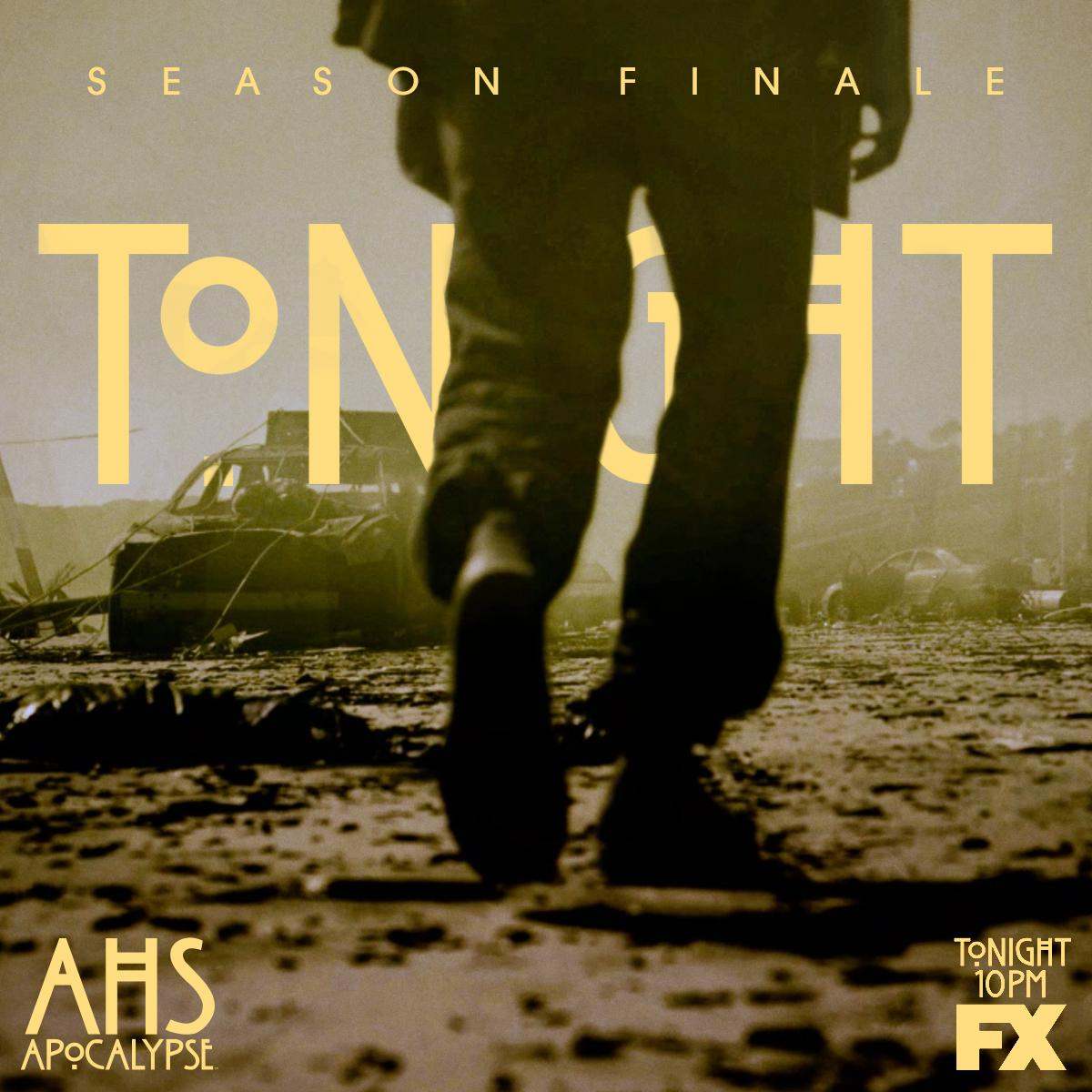 It ends tonight... #AHSApocalypse