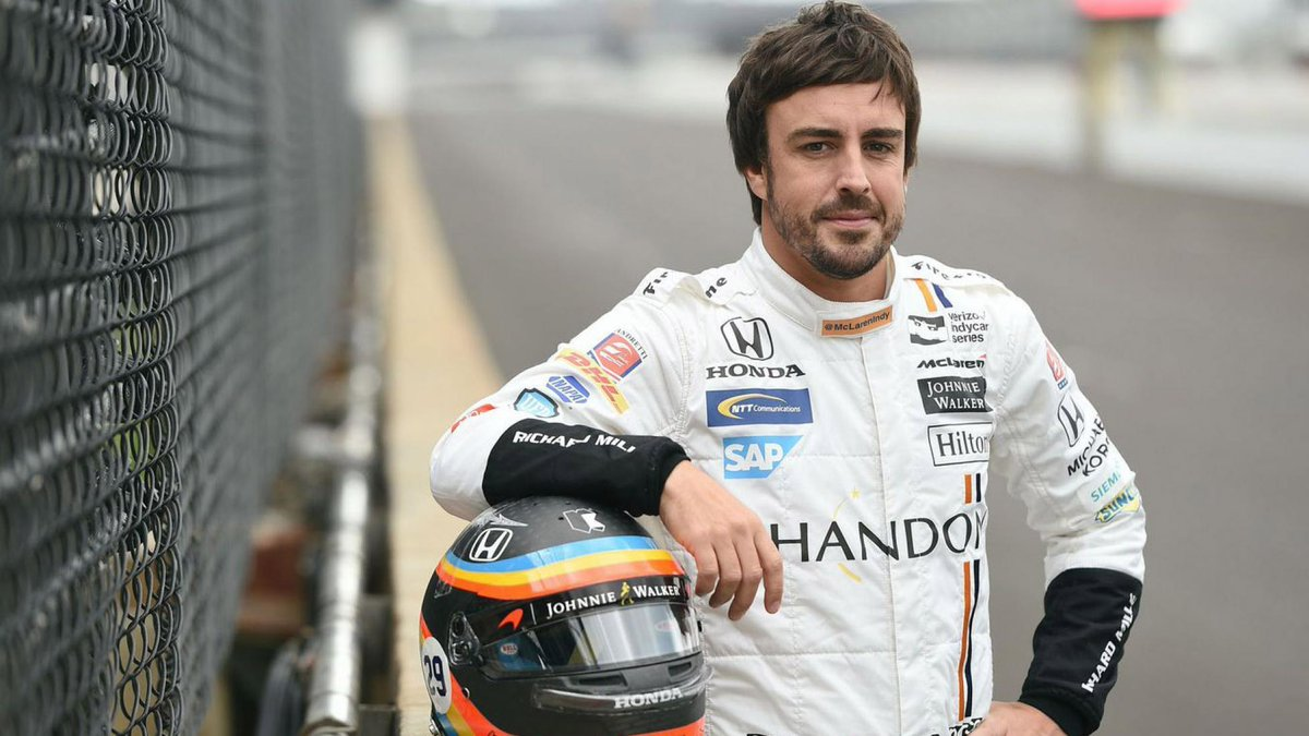 Fernando Alonso will return to Indy in 2019 >> topgear.com/car-news/motor…