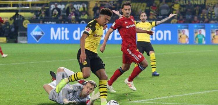 Hasan Salihamidzic, directeur sportif du Bayern Munich : «Le Bayern Munich a voulu signer un contrat avec Jadon Sancho et lui a fait une offre qu'il a malheureusement refusée pour Dortmund.» (Bild)