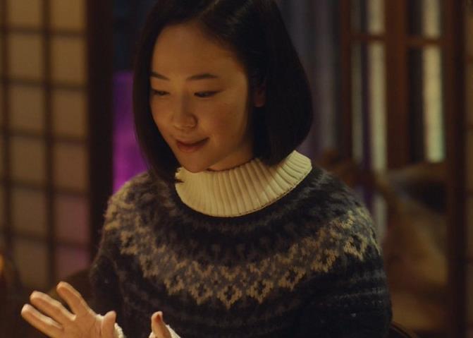 長門朱里役を演じる黒木華