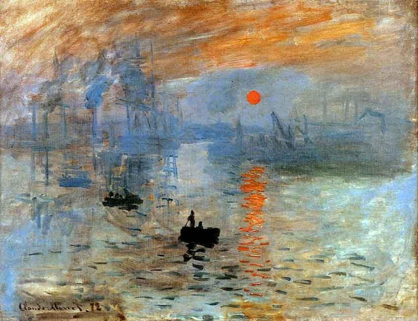 "VTV CANAL 8 on Twitter: ""La obra Sol naciente, pintada por Claude Monet en  1872, le dio nombre al estilo impresionista https://t.co/KuVLyOie6n  #CarnetDeLaPatriaBienestarSocial… https://t.co/BrmjHsUcdW"""