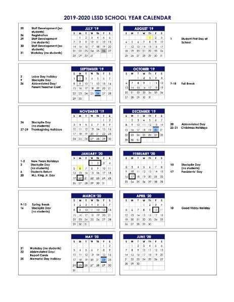Lssd Calendar 2021 Photos