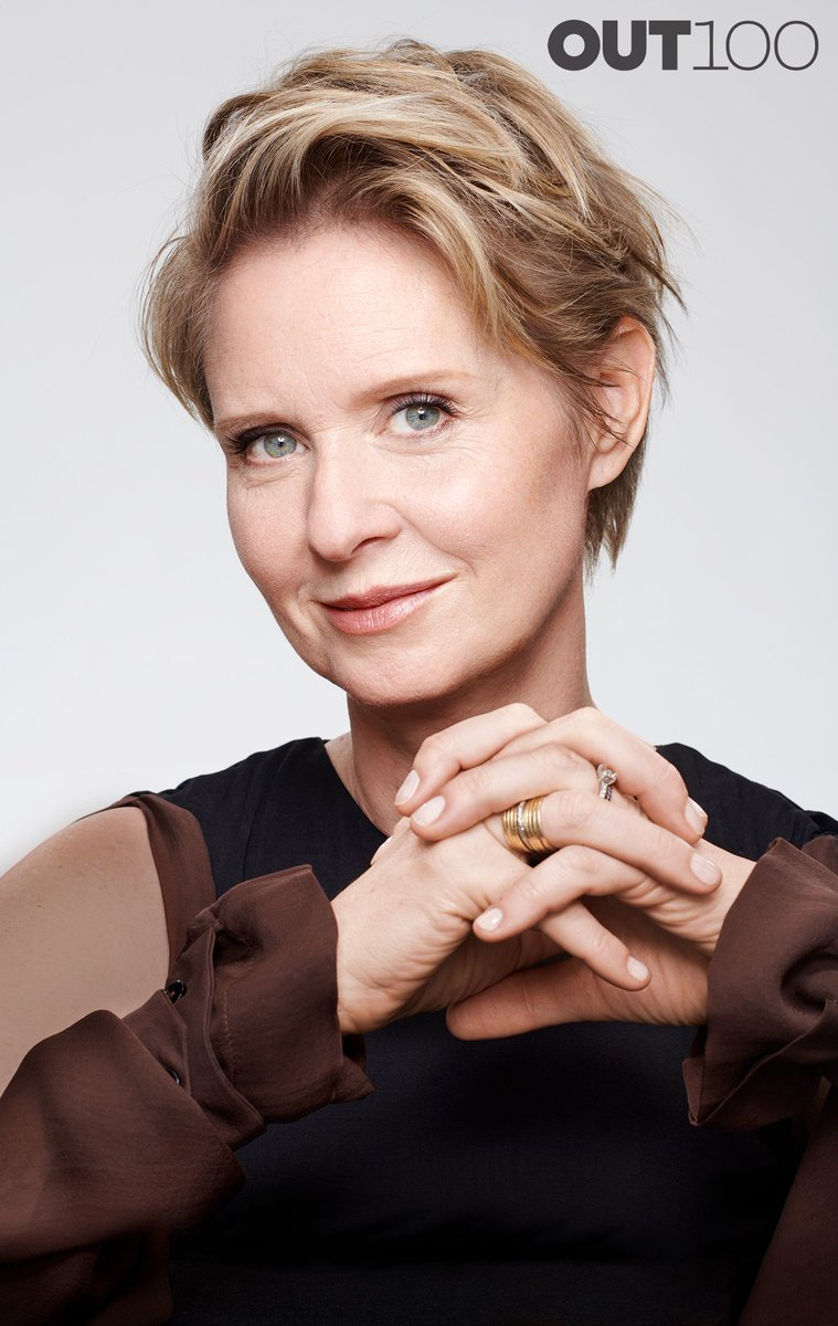 Cynthia Nixon, hero of the year #Out100 (@CynthiaNixon)  http:// out.com/out-exclusives /2018/11/08/out100-2018#slide-11 &nbsp; … <br>http://pic.twitter.com/X3hQuc4Klz