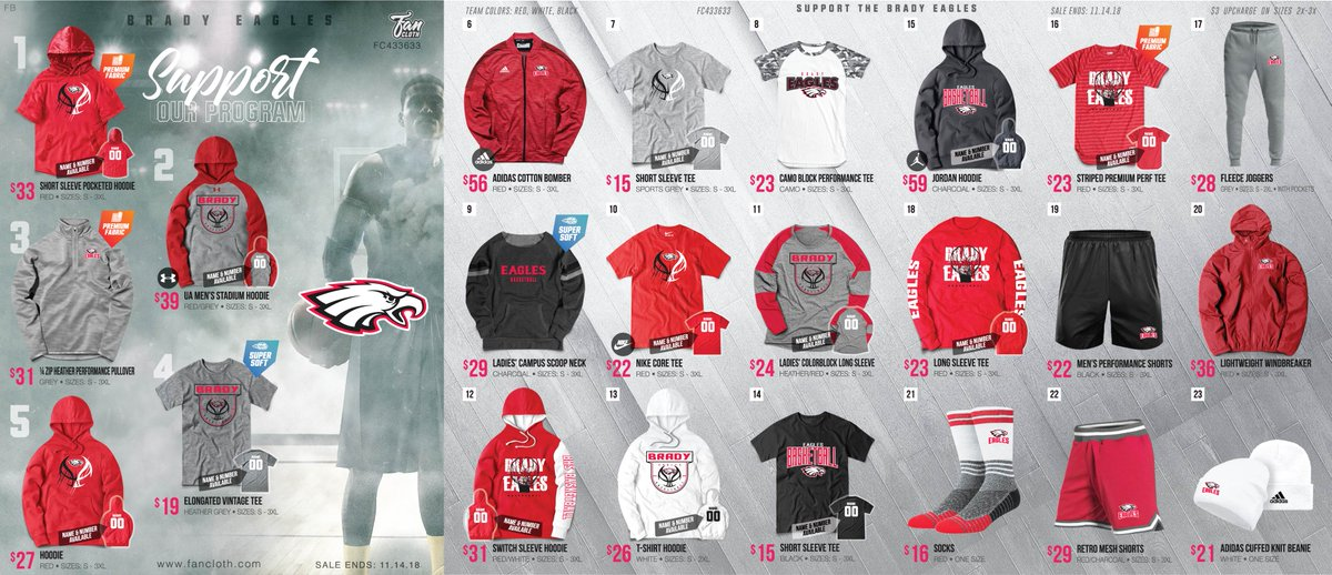 b4a3b977a040 Message me to put in your order by the end of the day today. Thanks for  supporting the Brady boys basketball team!   bradyeaglespic.twitter.com Fsr7BgHjJp