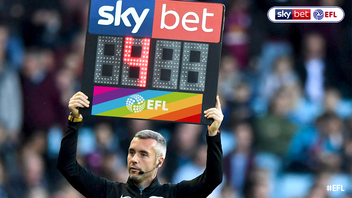 🏳️🌈 #EFL Clubs will once again unite for Rainbow Laces to support LGBT Equality, with rainbow substitution boards and corner flags to be used. Read more >> po.st/RainbowLacesCa…